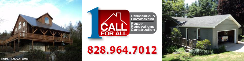 Blowing Rock NC and Boone NC Contractors for Home Renovations - Watauga, Avery, Ashe, Wilkes