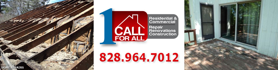 Blowing Rock NC and Boone NC Contractors for Home Repairs - Watauga, Avery, Ashe, Wilkes